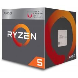 Procesor AMD Ryzen 5 2400G,...