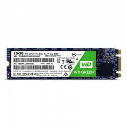 SSD WD, 120GB, Green, M.2...