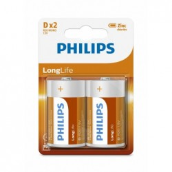 PH LONGLIFE D 2-BLISTER