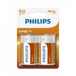 PH LONGLIFE D 2-BLISTER