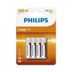 PH LONGLIFE AAA 4-BLISTER