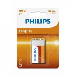 PH LONGLIFE 9V 1-BLISTER