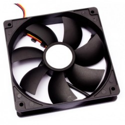 CASE COOLER DELUX 12CM BLACK